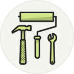 icon less maintenance